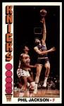 1976 Topps #77  Phil Jackson  Front Thumbnail