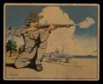 1941 Gum Inc Uncle Sam #27   Shore Rifle Practice Front Thumbnail