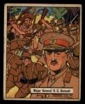 1941 Gum Inc. War Gum #32   Major General H.G. Bennett Front Thumbnail