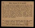 1941 Gum Inc. War Gum #32   Major General H.G. Bennett Back Thumbnail