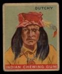 1933 Goudey Indian Gum #40  Dutchy   Front Thumbnail