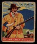 1933 Goudey Indian Gum #68  Kit Carson   Front Thumbnail