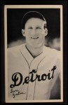 1936 National Chicle Fine Pen Premiums #33  Goose Goslin  Front Thumbnail