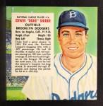 1954 Red Man #16 NL x Duke Snider  Front Thumbnail