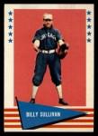 1961 Fleer #141  Billy Sullivan  Front Thumbnail