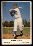 1961 Bell Brand Dodgers #5  Norm Larker    Front Thumbnail