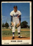 1961 Bell Brand Dodgers #38  Roger Craig     Front Thumbnail