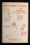 1939 Goudey Premiums R303B #15 BW Pinky Higgins   Back Thumbnail