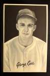 1939 Goudey Premiums R303B #2 BW George Case  Front Thumbnail