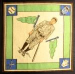 1914 B18 Blankets #12 WI George Burns   Back Thumbnail