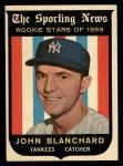 1959 Topps #117  John Blanchard  Front Thumbnail