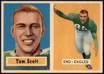 1957 Topps #25  Tom Scott  Front Thumbnail