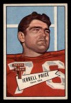1952 Bowman Small #49  Jerrell Price  Front Thumbnail