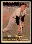 1957 Topps #221  Dixie Howell  Front Thumbnail
