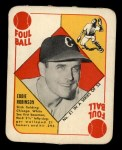 1951 Topps Red Back #51  Eddie Robinson  Front Thumbnail