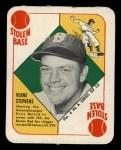 1951 Topps Red Back #4  Vern Stephens  Front Thumbnail