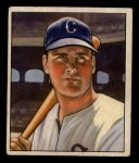1950 Bowman #4  Gus Zernial  Front Thumbnail