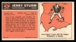 1965 Topps #64  Jerry Sturm  Back Thumbnail