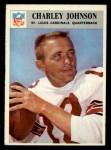 1966 Philadelphia #163  Charlie Johnson  Front Thumbnail