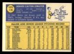 1970 Topps #178  Denny Lemaster  Back Thumbnail