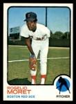 1973 Topps #291  Rogelio Moret  Front Thumbnail