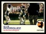 1973 Topps #45  Ellie Rodriguez  Front Thumbnail
