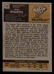 1971 Topps #131  Mike Phipps  Back Thumbnail