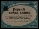 1963 Topps Astronaut Popsicle #25   Final checkup Back Thumbnail