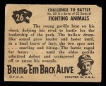 1950 Topps Bring Em Back Alive #26   Challenge To Battle Back Thumbnail