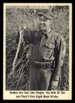 1965 Fleer Gomer Pyle #47   Snakes are Just Like People Front Thumbnail