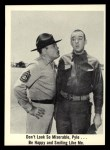 1965 Fleer Gomer Pyle #23   Don't Look So Miserable Front Thumbnail