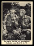 1965 Fleer Gomer Pyle #50   The Smell of that Cigar Front Thumbnail