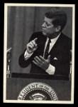 1964 Topps JFK #29   JFK Speaks At Wash. News Conf. Front Thumbnail