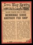 1965 A & BC England Civil War News #8   Destructive Blow Back Thumbnail