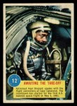 1963 Topps Astronauts 3D #12   Awaiting the Take-off Front Thumbnail