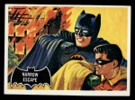 1966 Topps Batman Black Bat #21   Narrow Escape Front Thumbnail