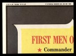1970 Topps Man on the Moon #29 A  Capsule Exit Back Thumbnail