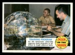 1970 Topps Man on the Moon #24 A  Training Program Front Thumbnail