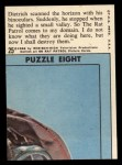 1966 Topps Rat Patrol #25   Dietrich Scanned the Horizon Back Thumbnail