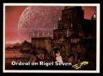 1976 Topps Star Trek #52   Ordeal on Rigel Seven Front Thumbnail