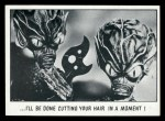 1973 Topps You'll Die Laughing #126   I'll be done cutting your hair Front Thumbnail