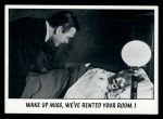 1973 Topps You'll Die Laughing #62   Wake up miss Front Thumbnail