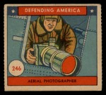 1941 W.S. Corp Defending America #246   Aerial Photographer Front Thumbnail