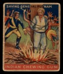 1933 Goudey Indian Gum #173   Saving Gen. Putnam  Front Thumbnail