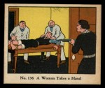 1931 Johnson Candy Dick Tracy R41 #136   Woman Takes Hand Front Thumbnail