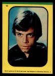 1983 Topps Star Wars Return of the Jedi Stickers #10  Luke Skywalker  Front Thumbnail