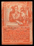 1957 Topps Isolation Booth #49   Greatest Speed on Water Back Thumbnail
