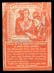 1957 Topps Isolation Booth #59   Greatest Distance Man Ever Swam Back Thumbnail