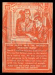 1957 Topps Isolation Booth #87   World's Fattest Man Back Thumbnail