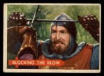 1957 Topps Robin Hood #59   Blocking The Blow Front Thumbnail